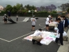 Skateboarding and Painting